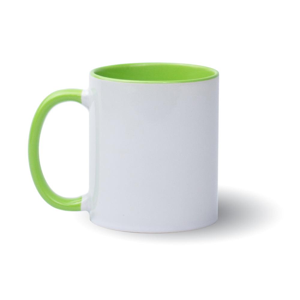 Izveido dizainu pats - gaiši zaļa krūze