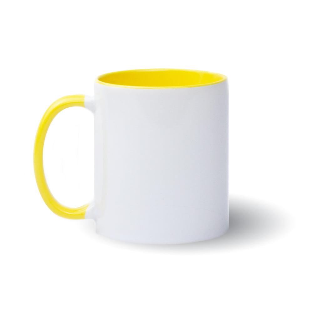 Izveido dizainu pats - dzeltena krūze