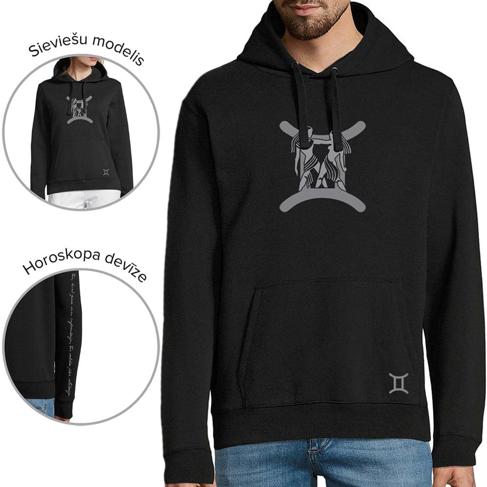 džemperis ar horoskopa zīmi dvīņi
