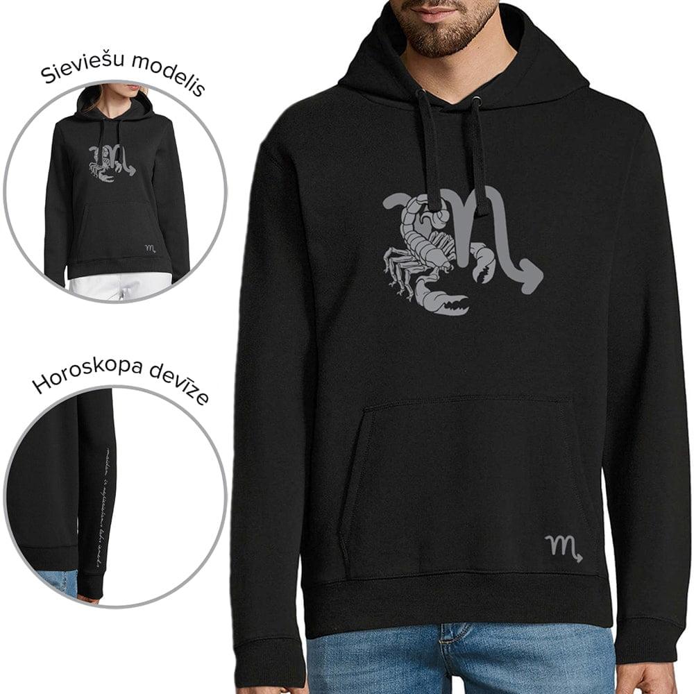 džemperis ar horoskopa zīmi skorpions