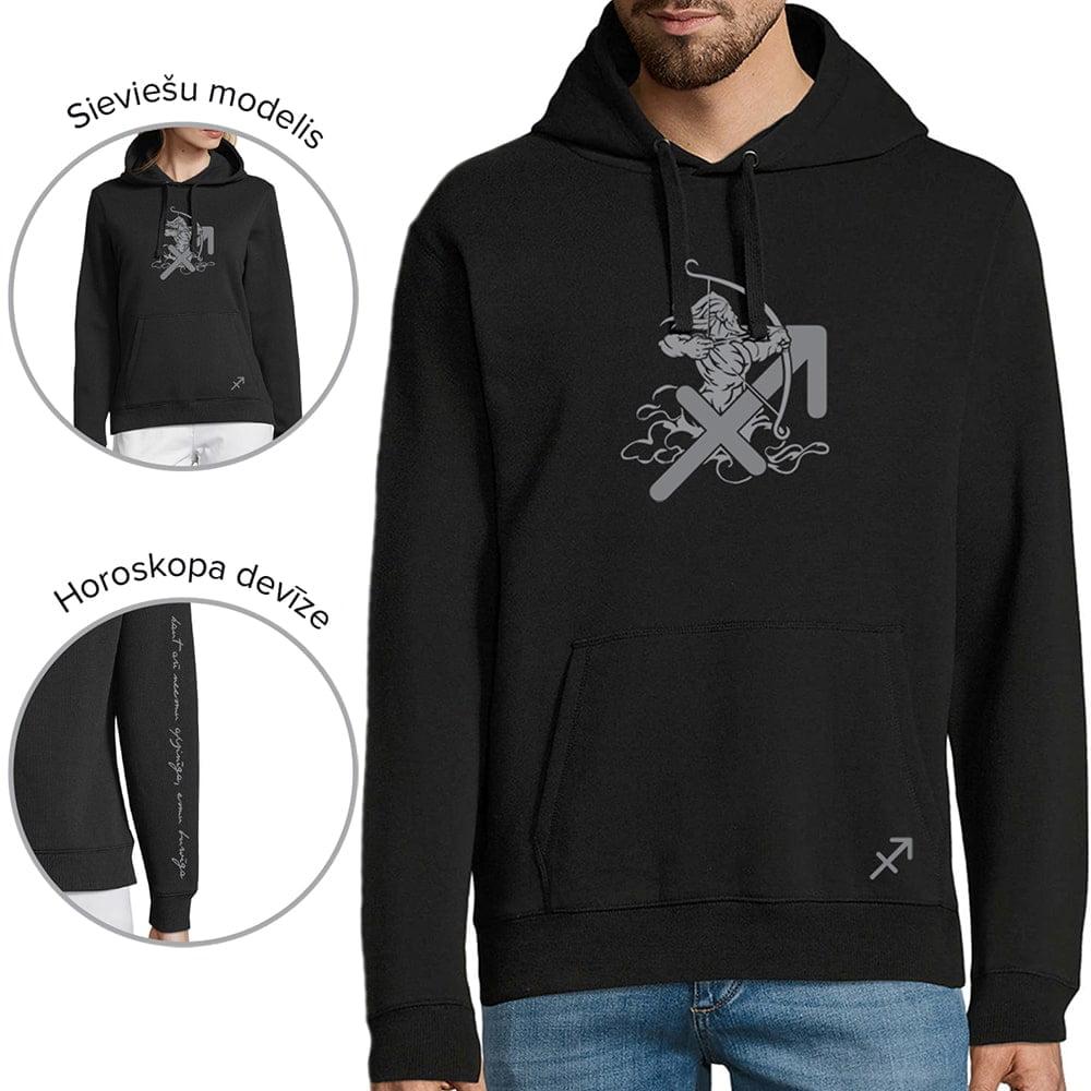 džemperis ar horoskopa zīmi strēlnieks