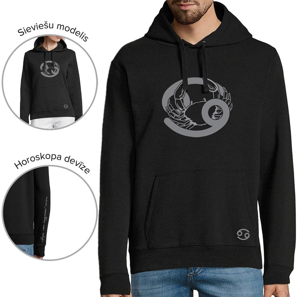 džemperis ar horoskopu vēzis