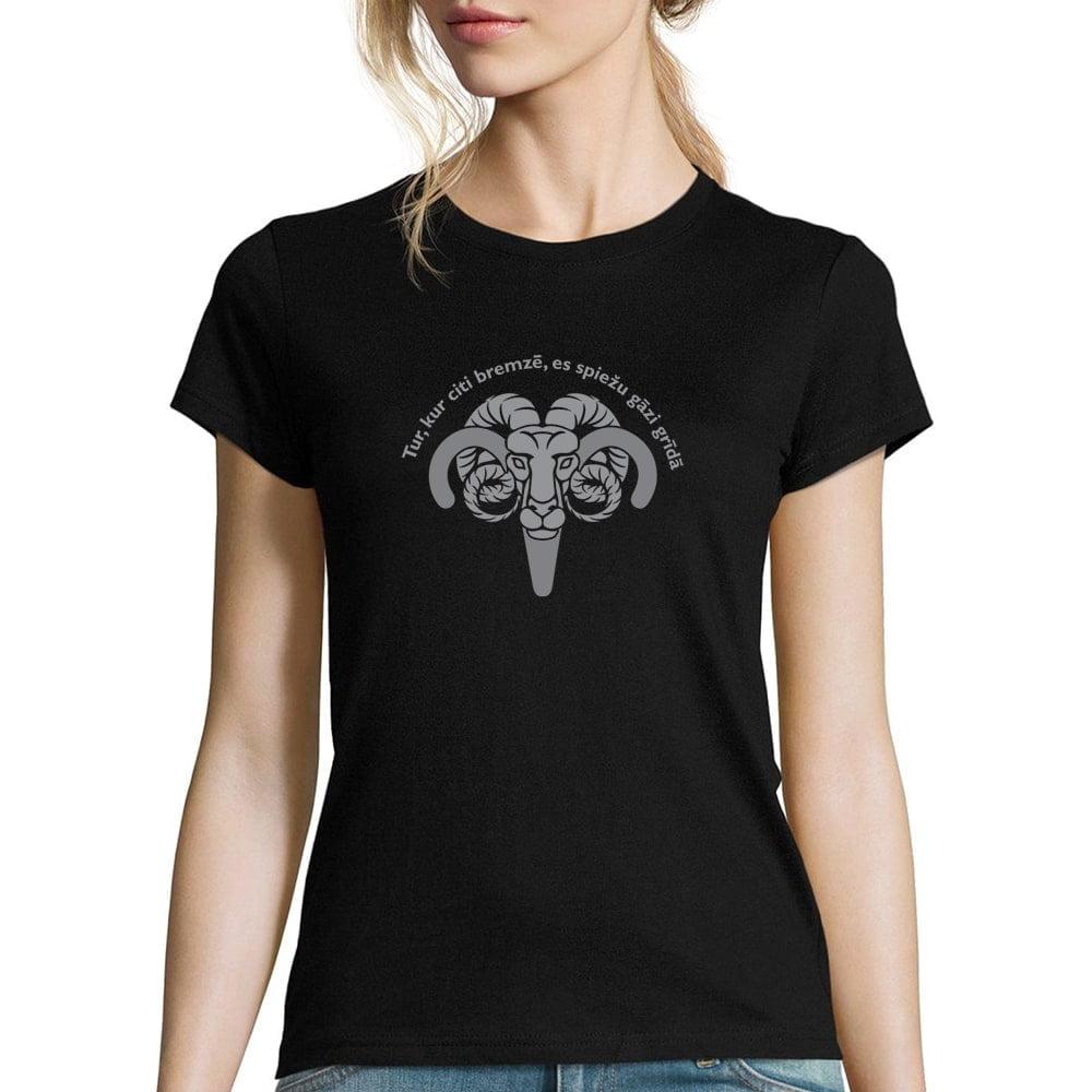 sieviešu krekls ar horoskopa zīmi auns