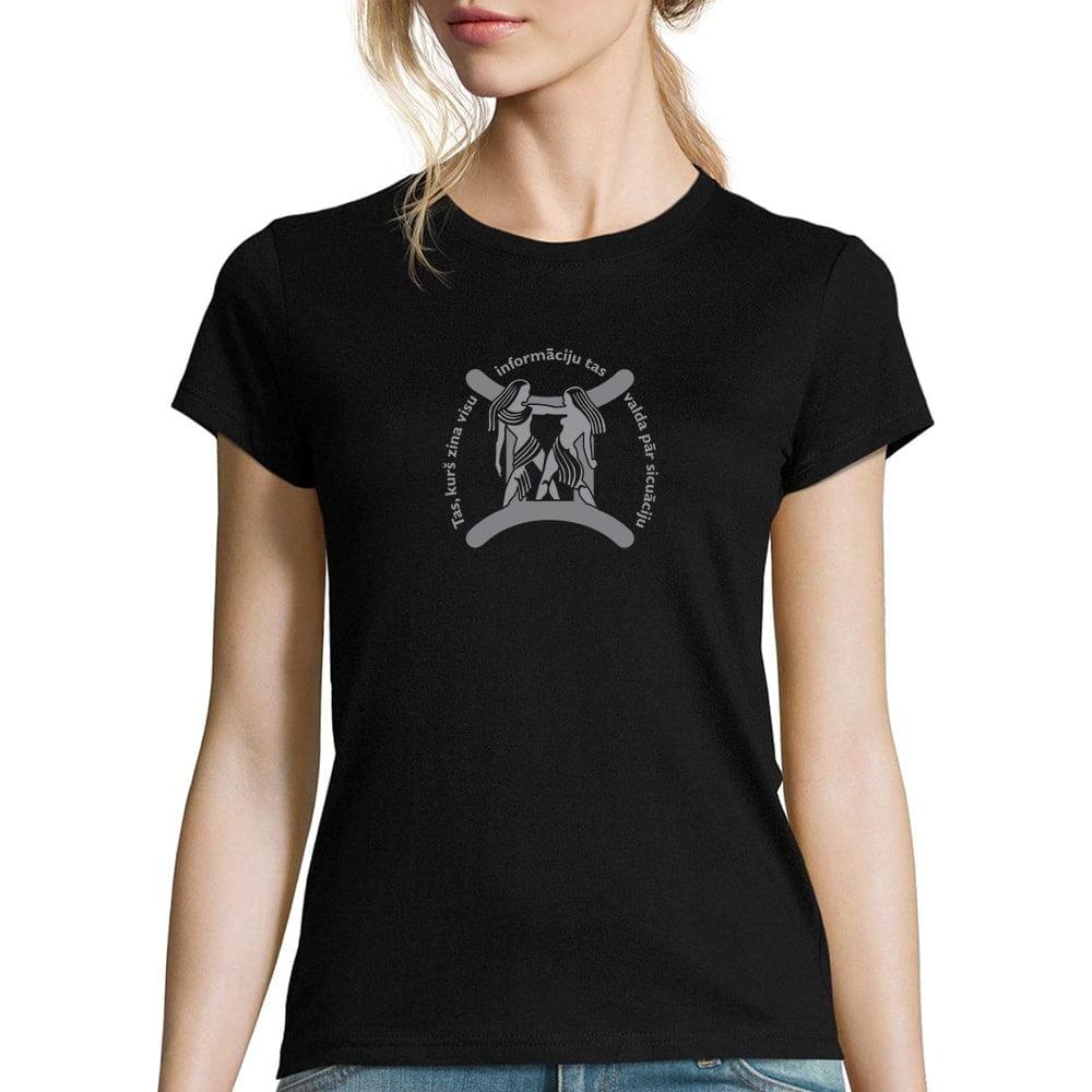 sieviešu krekls ar horoskopu dvīņi