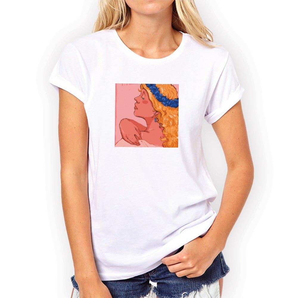 sieviešu krekls ar apdruku jāņiem